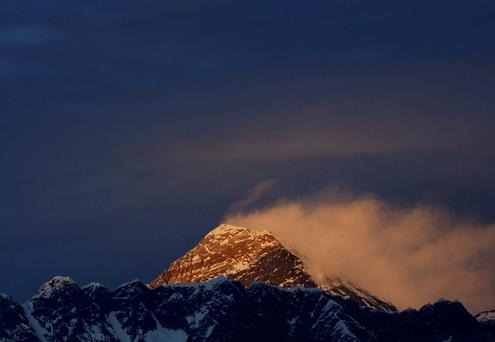 Mount Everest. Reuters/Navesh Chitrakar/File Photo