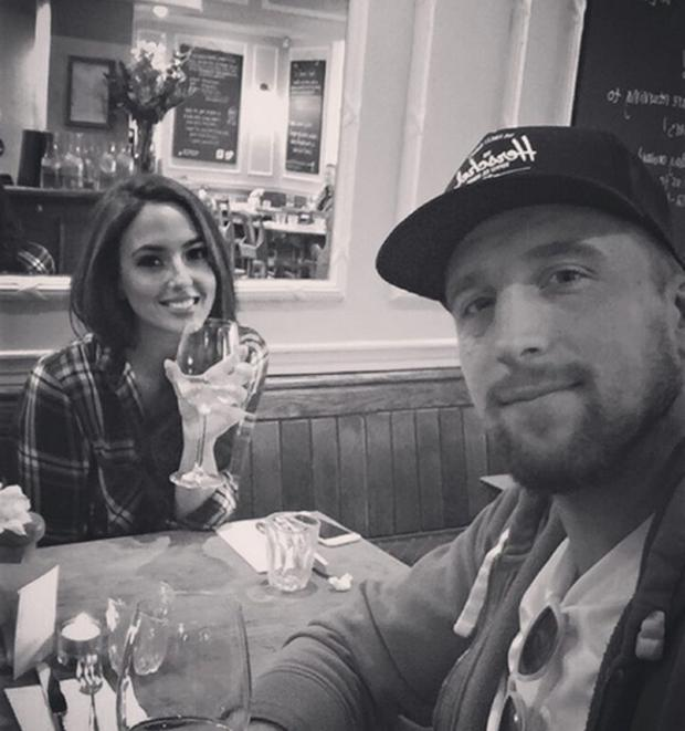 Nadia Forde and boyfriend Dominic Day. Picture: Instagram