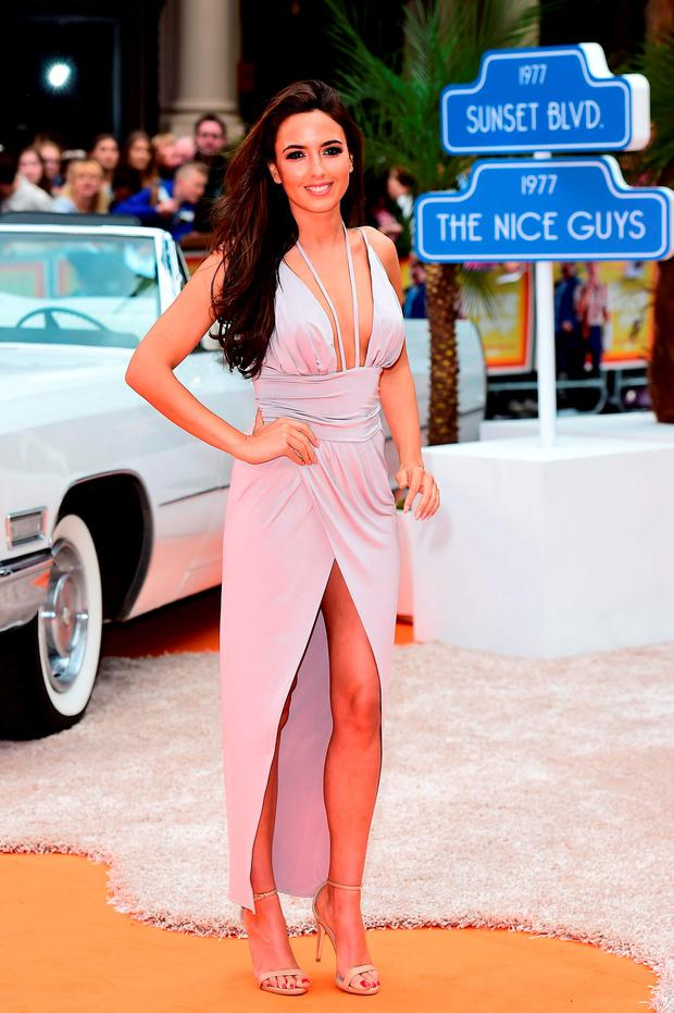 Nadia Forde attending the Nice Guys UK Premiere at Odeon cinema, Leicester Square