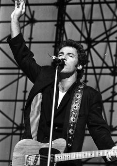 Bruce Springsteen concert at RDS, July 1988(Part of the Independent Newspapers Ireland/NLI collection.)