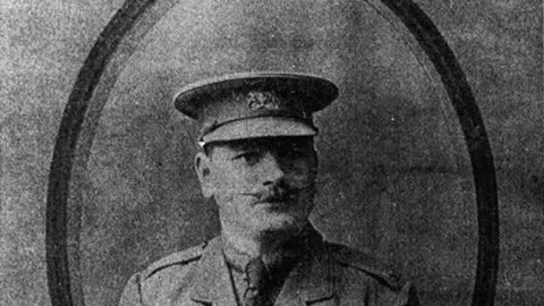 Matthew McLoughlin, who was Lord Kitchener's personal protection officer