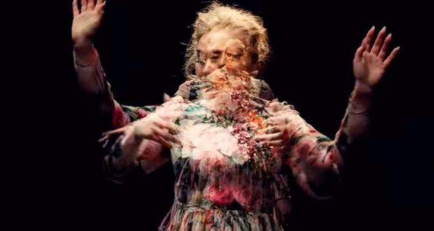 Adele in the video for Send My Love (To Your New Lover)