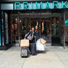 Freya Drohan outside Primark (Penneys) in Boston. Picture: Freya Drohan