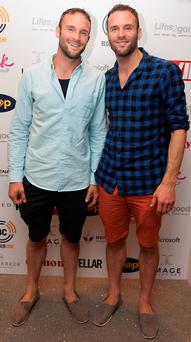 David and Stephen Flynn pictured at BloggerConf 2016 at The Marker Hotel. Picture: Patrick O'Leary