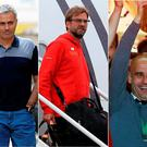 Mourinho, Klopp and Guardiola will all be managing in the Premier League next season