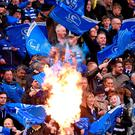 Leinster supporters at the Aviva Stadium. Picture credit: Stephen McCarthy