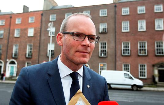 Housing Minister Simon Coveney: 'get vacant houses back into use'. Photo: Tom Burke