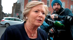 Justice Minister Frances Fitzgerald. Photo: Tom Burke