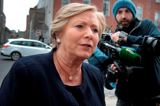 Tánaiste and Justice Minister Frances Fitzgerald. Photo: Tom Burke