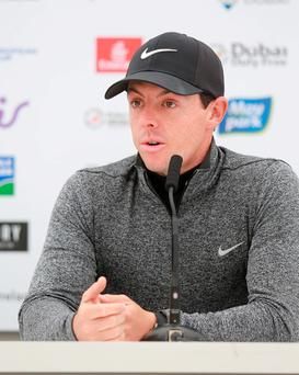 Rory McIlroy. Picture Credit: Frank Mc Grath