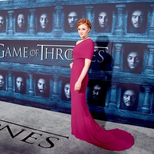 "Actress Sophie Turner attends the premiere of HBO's ""Game Of Thrones"" Season 6 at TCL Chinese Theatre on April 10, 2016 in Hollywood, California. (Photo by Alberto E. Rodriguez/Getty Images)"