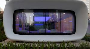 A view of the world's first functional 3D printed offices are seen in Dubai May 23, 2016. REUTERS/Ahmed Jadallah