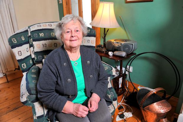 Happily busy: Peg O'Connor (75) minds her three grandchildren regularly Photo: Daragh Mc Sweeney/Provision