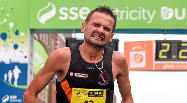 Ciobanu, who grew up in Moldova but has lived in Ireland for the past 10 years, was the third fastest Irishman during the qualification period, but wasn't included when the three-man team was named on Monday night. Photo: Pat Murphy/SPORTSFILE