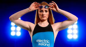 Rio-bound Fiona Doyle is supporting Electric Ireland's #ThePowerWithin campaign. Photo: Ramsey Cardy/Sportsfile