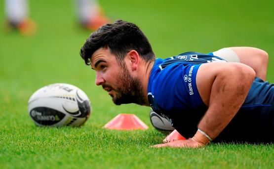 Leinster's Mick Kearney wouldn't mind a crack at his former Connacht team-mates. Picture: Stephen McCarthy / SPORTSFILE