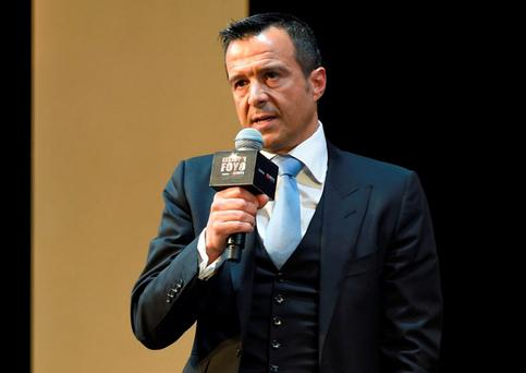 Portuguese football agent Jorge Mendes. GETTY