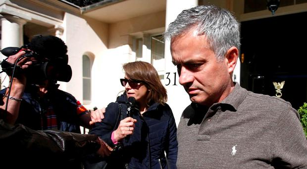 Manchester United are set to name Jose Mourinho as their new manager in the next 48 hours. REUTERS/Peter Nicholls
