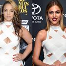 Dascha Polanco and Daniela Di Giacomo in the same dress at the People En Espanol's 50 Most Beautiful 2016 party