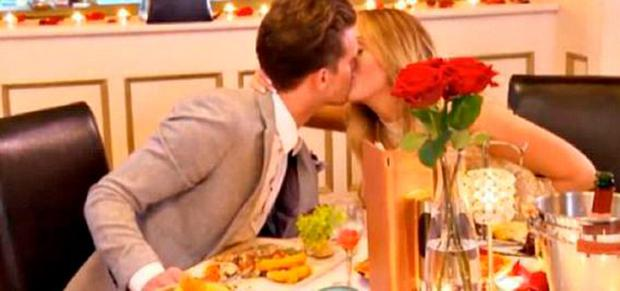 The calm before the storm... Gary took Charlotte out on their first official date. PIC: MTV