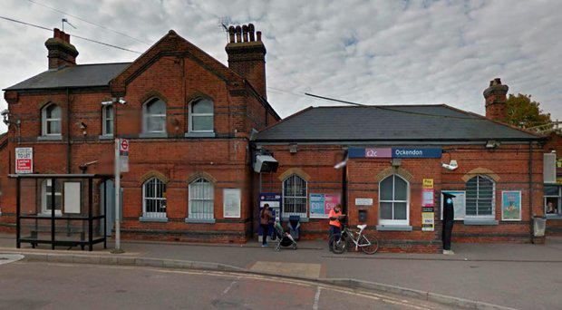 The incident happened at Ockenden train station in Essex Google Street View