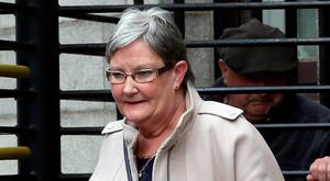 Ann Groves, of Chapel Hill, Baltinglass, Co. Wicklow, pictured leaving the Four Courts yesterday Pic: Collins Courts
