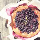 Mustikkapiirakka (Finnish Blueberry Pie). Photo: Valerie O'Connor.