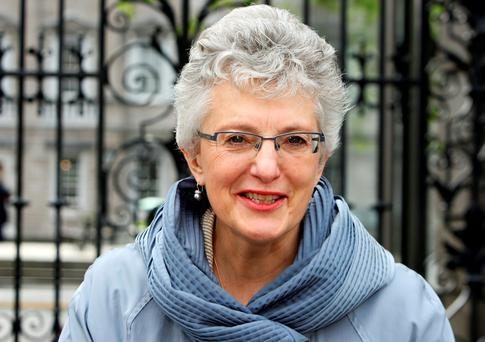 The grandparents failed in their bid to get the Children's Minister, Katherine Zappone (pictured), to intervene Photo: Tom Burke