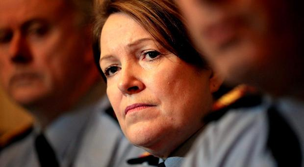 Garda Commissioner Nóirín O'Sullivan made a statement about her stance toward whistleblower Sgt Maurice McCabe. Photo: Gerry Mooney