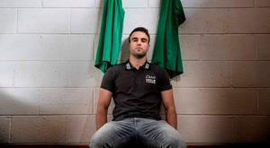 Conor Murray pictured at Longford RFC (INPHO/Billy Stickland)