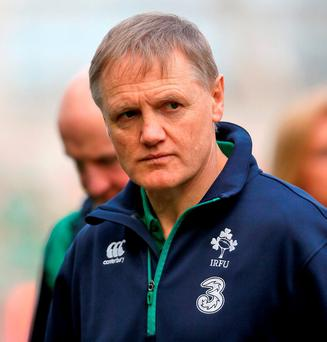 Ireland head coach Joe Schmidt. Photo: Niall Carson/PA Wire.