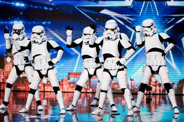 Boogie Storm who has won a place in the Britain's Got Talent final, along with Richard Jones. Syco/Thames TV/PA Wire