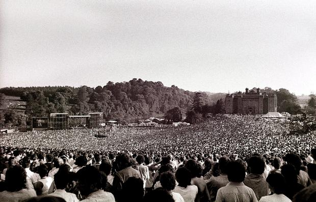 1. Bruce Springsteen at Slane Castle June 1, 1985