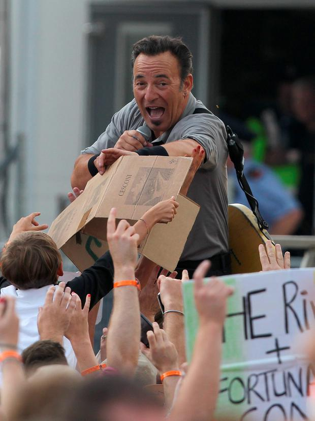 3. Bruce Springsteen at Nowlan Park, July 27, 2013 Photo: Damien Eagers / Irish Independent