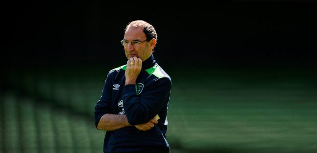 O'Neill will be taking McCarthy to France, even if he doesn't play in either of the warm-up games against Holland and Belarus: David Maher/Sportsfile