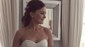 Journalist Joanna Kiernan on her wedding day