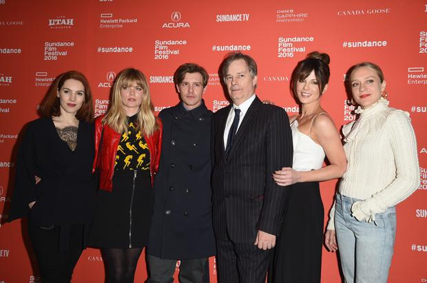 Kelly Campbell, Emma Greenwell, Xavier Samuel, Whit Stillman, Kate Beckinsale and Chloë Sevigny attend the
