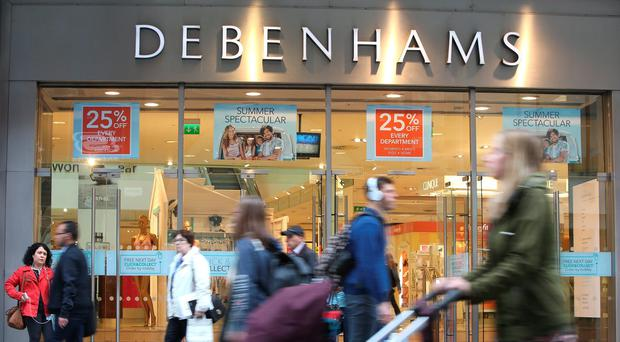 The Debenhams store on Dublin's Henry Street. Photo: Damien Eagers