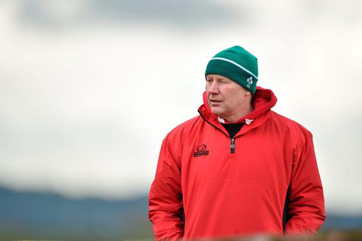Enniscorthy head coach Declan O'Brien. Photo: Matt Browne / SPORTSFILE
