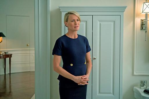 Actress Robin Wright of House of Cards