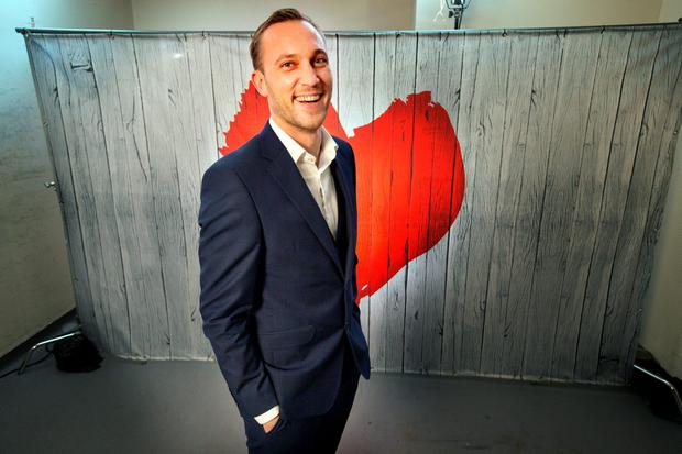 Maitre D' Mateo Saina of RTE's new show First Dates. Photo: Tony Gavin