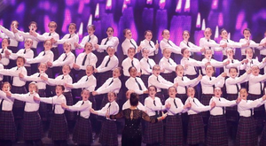 Presentation Choir from Kilkenny conducted by Veronica McCarron on Britain's Got Talent last night