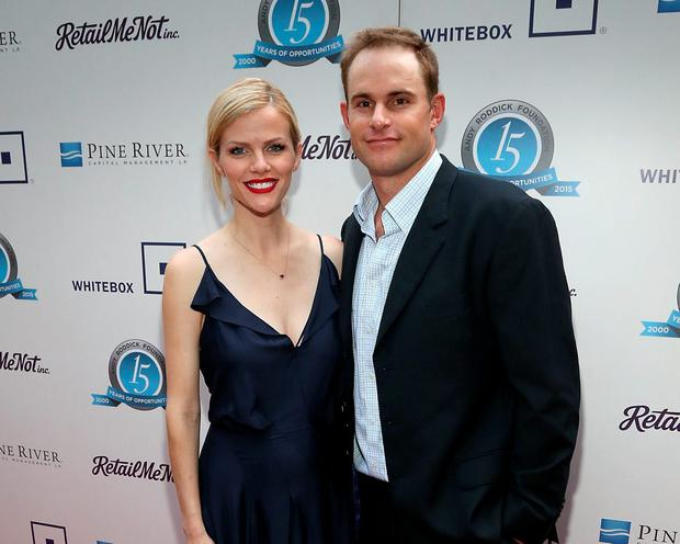 Brooklyn Decker (L) and Andy Roddick attend the 10th Annual Andy Roddick Foundation Gala at ACL Live on May 4, 2015 in Austin, Texas. (Photo by Gary Miller/Getty Images)