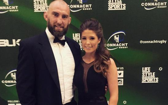 Lorna Byrne with boyfriend John Muldoon. Picture: Lorna Byrne