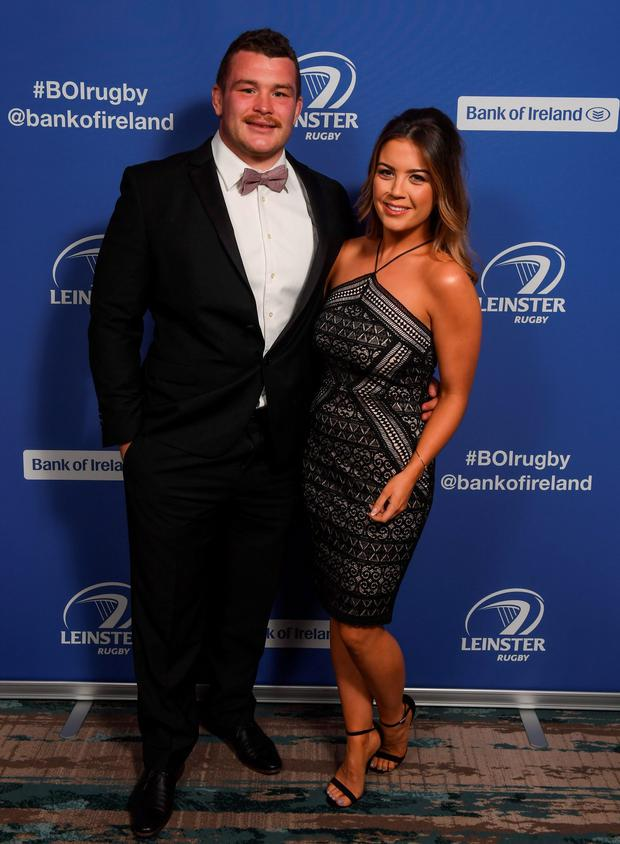 Jack McGrath and Sinead Corcoran pictured at the 2016 Leinster Ball