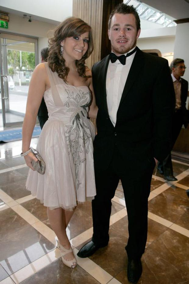 Cian Healy and Laura Smith in 2009