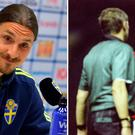 Zlatan Ibrahimovic and Eric Cantona