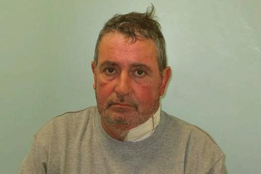 Guilty: Michael Purcell was convicted of murder and burglary at the Old Bailey. Picture: Met Police
