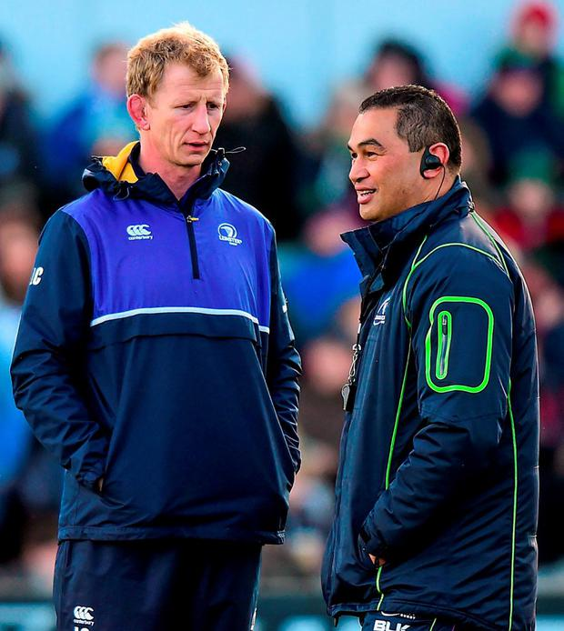 The battle of the coaches between Pat Lam and Leo Cullen will be crucial. Photo: Ramsey Cardy / Sportsfile