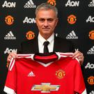 Jose Mourinho is unveiled as the new Manchester United Manager. Photo: John Peters/Man Utd via Getty Images